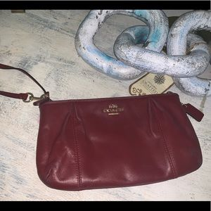 Coach big Wristlet bag